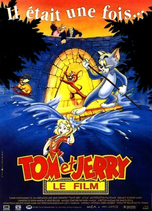 Tom and Jerry The Movie Movie Poster 4 of 4 IMP Awards