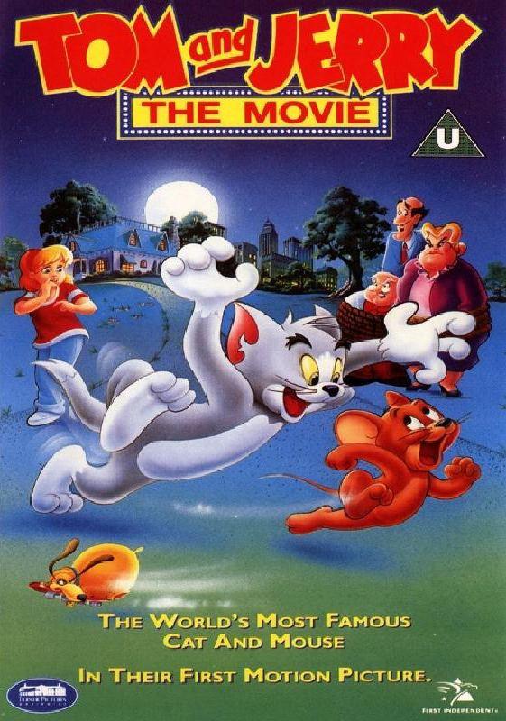 Tom and Jerry The Movie DVD Box Art Box Art Pinterest Movie
