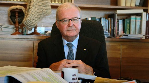 Tom Bathurst Chief Justice Tom Bathurst takes aim at needlessly wordy lawyers