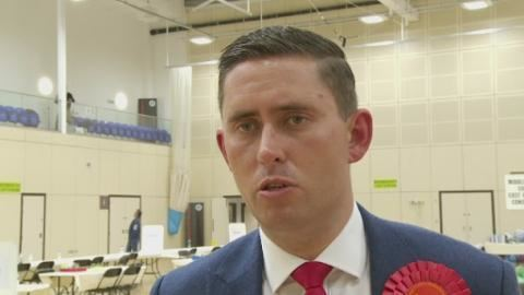 Tom Blenkinsop Watch People39s dreams smashed with Labour loss says Tom