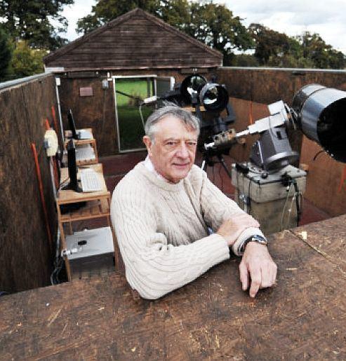 Tom Boles Philosophy of Science Portal Amateur astronomer Tom Boles holds