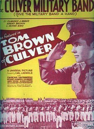 Tom Brown of Culver wwwmaxinkuckeehistorypasttrackercomcefcmato