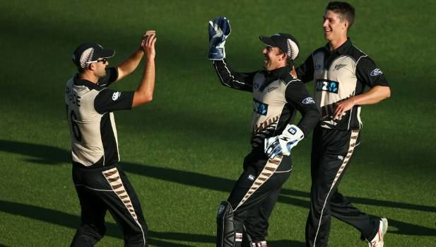 Tom Bruce (cricketer) No hard feelings for Tom Bruce after being runout in Black Caps