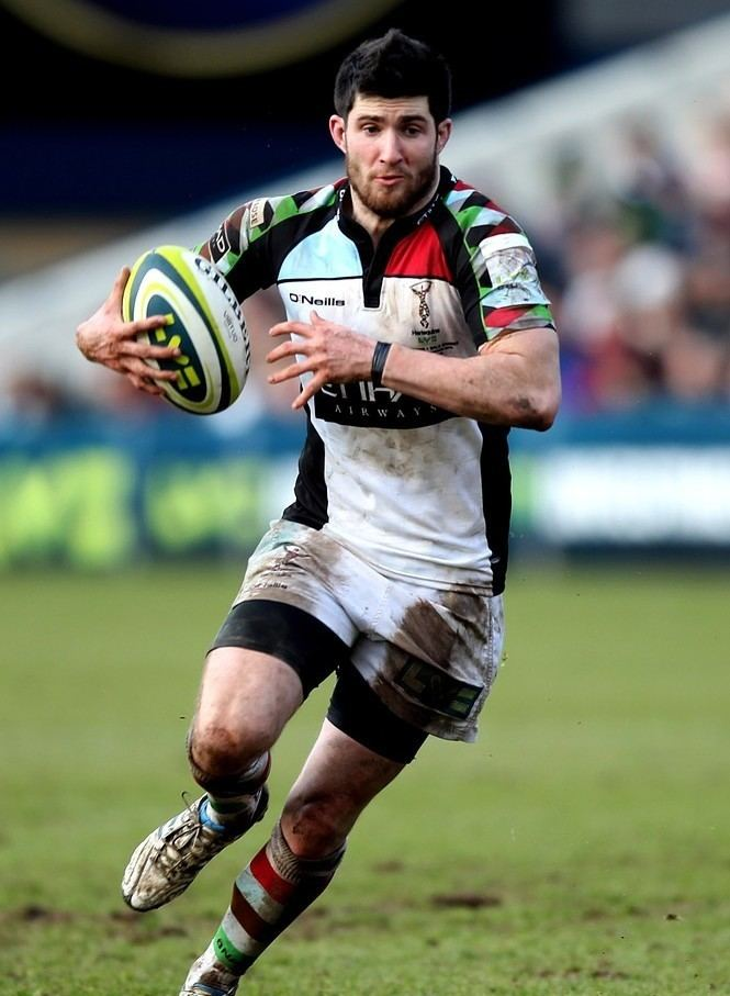 Tom Casson Harlequins centre Tom Casson aims to establish himself for