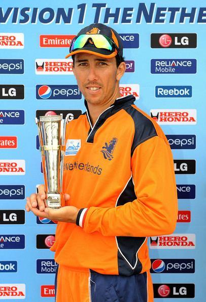 Tom Cooper (cricketer) Tom Cooper Photos Netherlands v Afghanistan ICC World