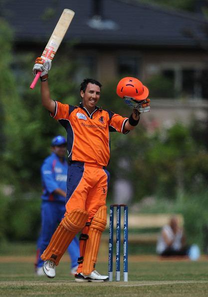 Tom Cooper (cricketer) Tom Cooper Pictures Netherlands v Afghanistan ICC