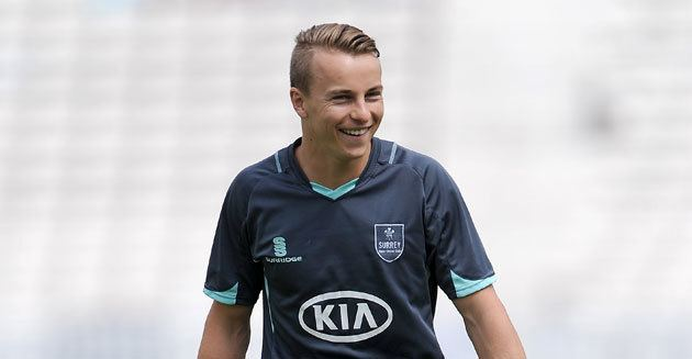 Tom Curran (cricketer) Surrey Sign Tom Curran Kia Oval