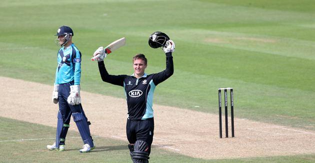Tom Curran (cricketer) Roy and Curran seal win Kia Oval