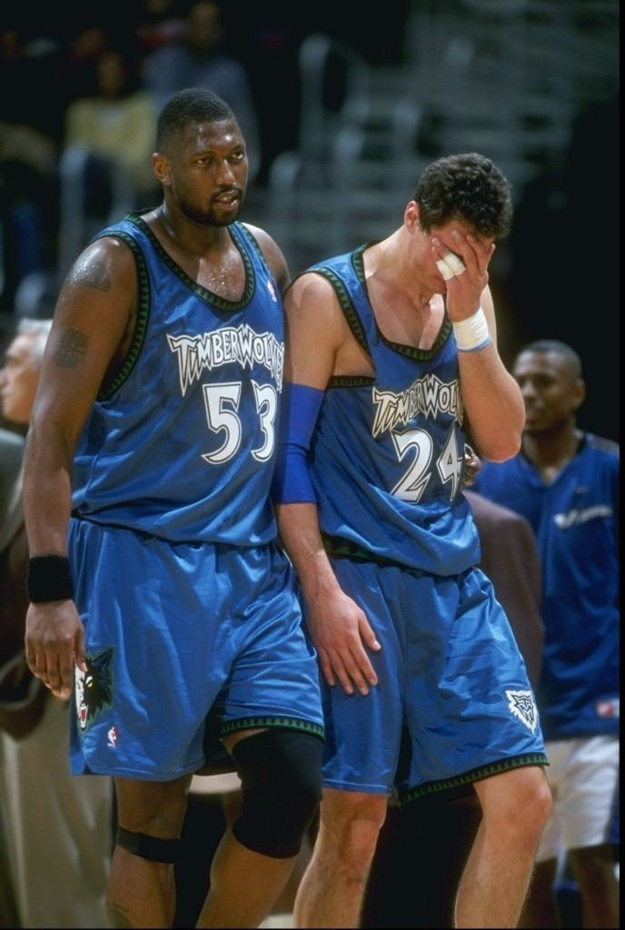 Tom Gugliotta NBA 5 Players Who Had The Worst Time in Minnesota
