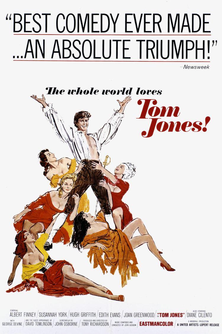 Tom Jones (1963 film) wwwgstaticcomtvthumbmovieposters4215p4215p