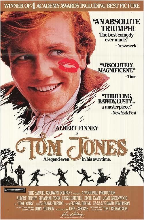 Tom Jones (1963 film) Ricks Cafe Texan Carry On Fielding Tom Jones Review