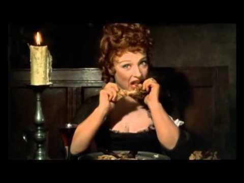 Tom Jones (1963 film) La cena Tom Jones Tony Richardson1963 YouTube