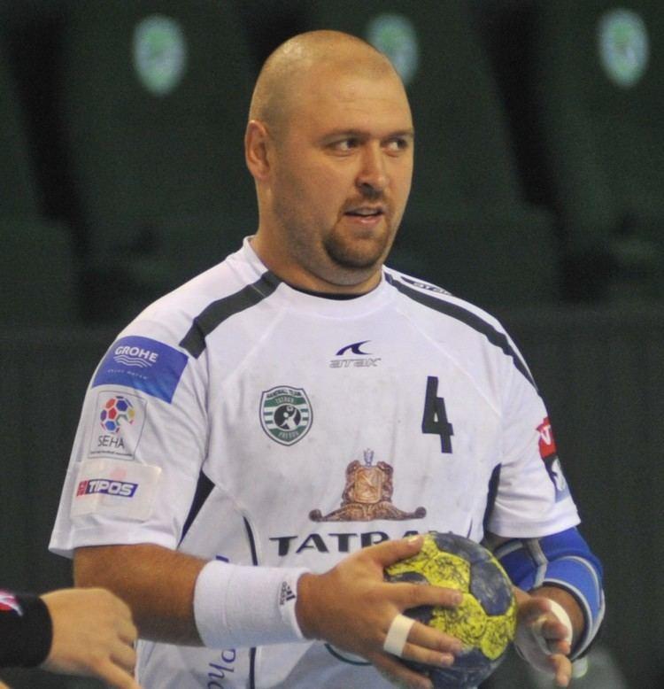 Tomáš Mažár Tom Mar op reprezentoval Slovensko Handball Team Tatran Preov