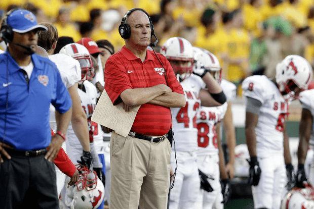 Tom Mason (American football) June Jones resigns as SMU football coach Tom Mason to be interim