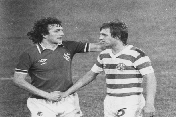 Tom McAdam Former Celtic star Tom McAdam pays tribute to his Rangers player