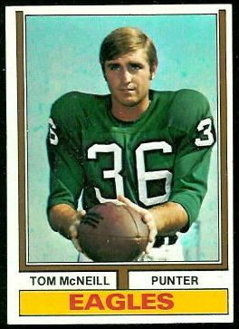 Tom McNeill Tom McNeill 1974 Topps 99 Vintage Football Card Gallery