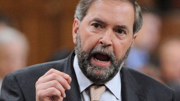 Tom Mulcair Is Canada suffering from 39Dutch disease39 Canada CBC News
