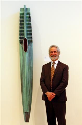 Tom Phardel Talk art with Tom Phardel and Sharon Que at SVSUs Marshall