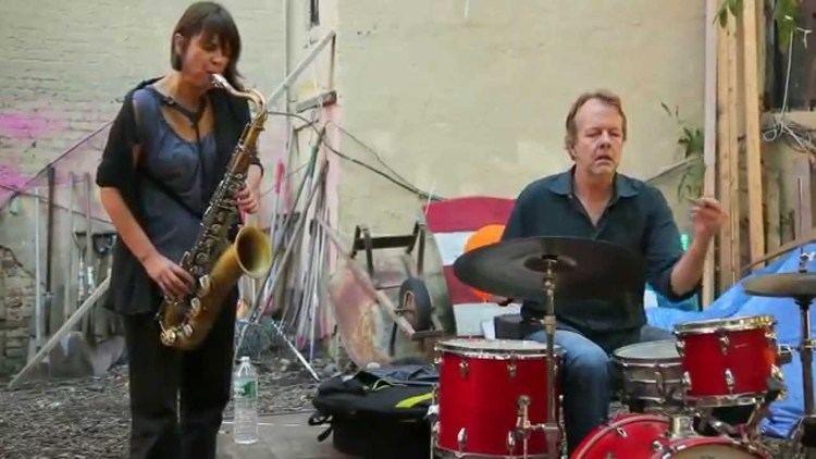 Tom Rainey Ingrid Laubrock amp Tom Rainey 13 Interstellar Duos in