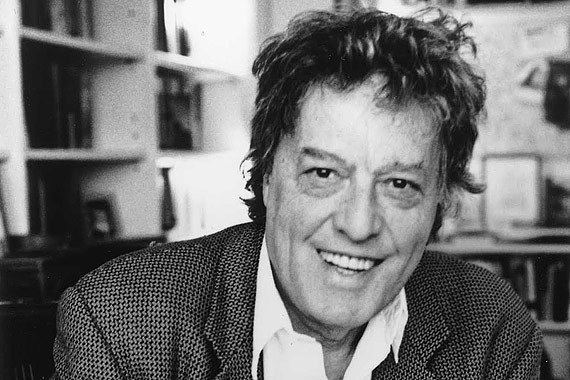 Tom Stoppard To Tom Stoppard a letter from London clivejamescom