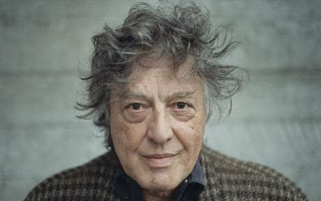 Tom Stoppard Sir Tom Stoppard interview Telegraph
