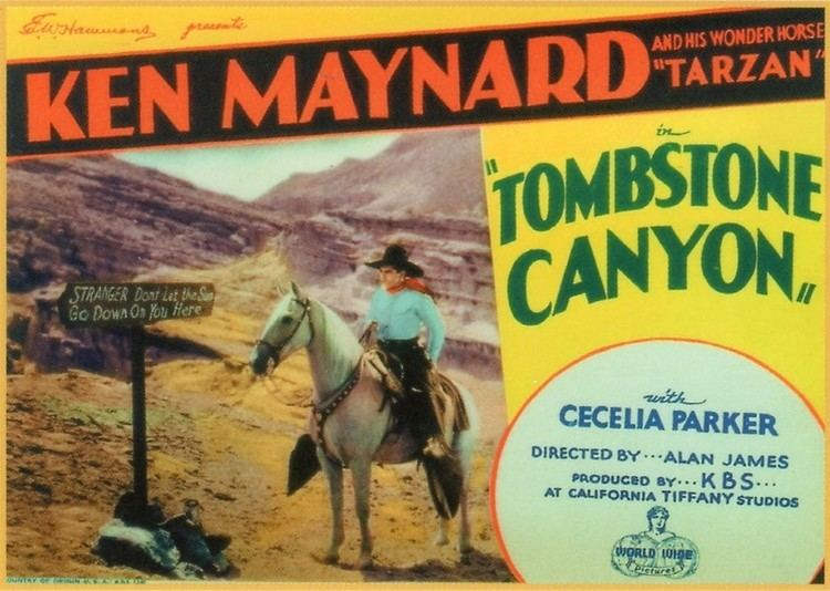 PASSING THE TORCH FROM MAYNARD TO AUTRY TOMBSTONE CANYON 1932 IN