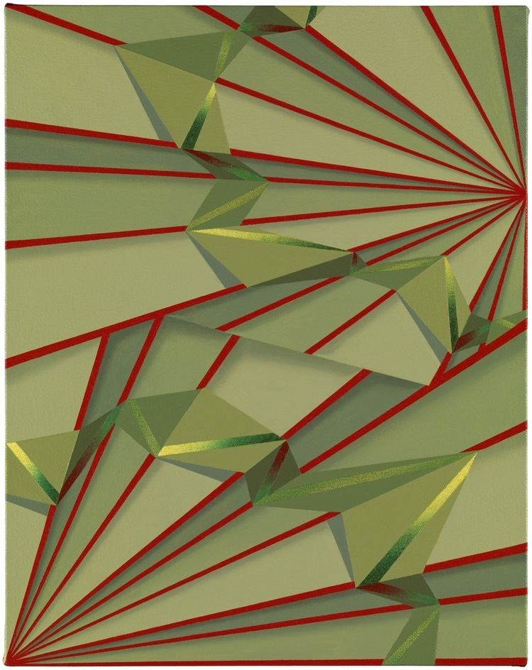 Tomma Abts Tomma Abts Inte 2013 acrylic and oil on canvas 48 x 38 cm