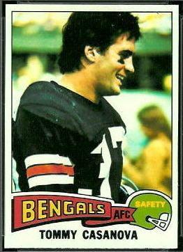 Tommy Casanova Tommy Casanova 1975 Topps 465 Vintage Football Card Gallery