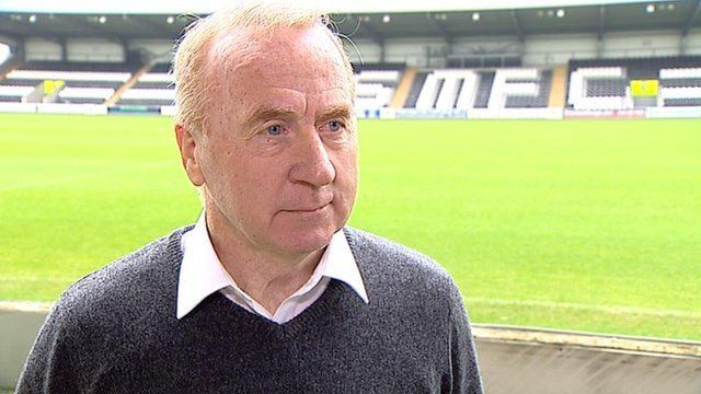 Tommy Craig BBC Sport Tommy Craig St Mirren manager 39hurting39 at