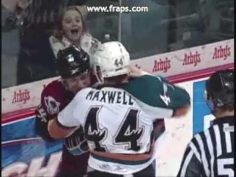 Tommy Maxwell (ice hockey) Mark McCutcheon vs Tommy Maxwell 2209 YouTube