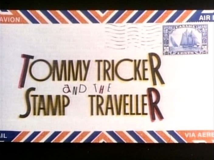 Tommy Tricker and the Stamp Traveller Buy Tommy Tricker and the Stamp Traveller DVD Rezarected