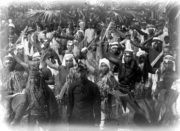 Tomohon in the past, History of Tomohon