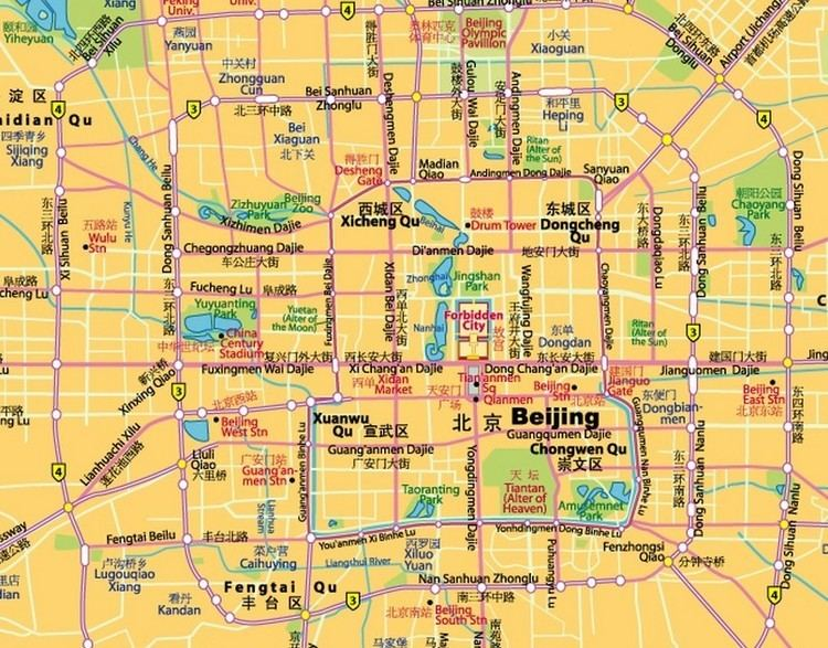 Tongzhou District, Beijing Tourist places in Tongzhou District, Beijing