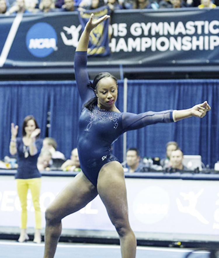 Toni-Ann Williams Jamaica39s gymnast ToniAnn Williams39 vaults meteorically