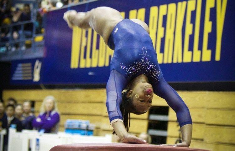 Toni-Ann Williams ToniAnn Williams of Cal women39s gymnastics travels to