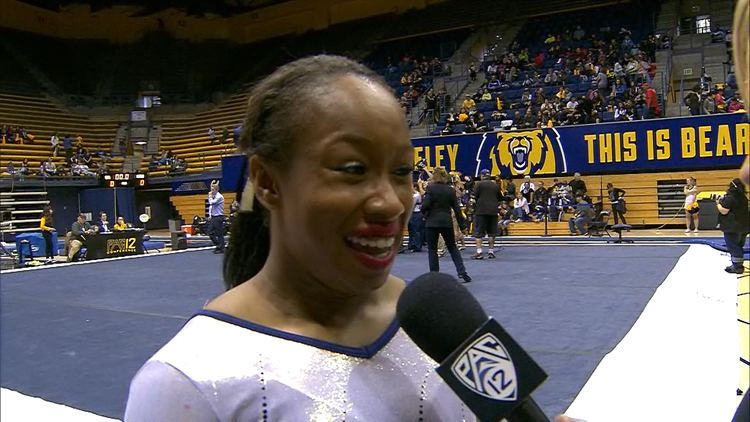 Toni-Ann Williams ToniAnn Williams discusses meetwinning routine for Cal