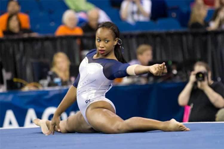 Toni-Ann Williams All Jamaican eyes on Cal gymnast ToniAnn Williams