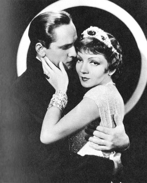 Fredric March and Claudette Colbert in Tonight is