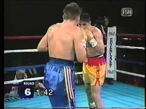 Tony Badea Tony Badea vs Gavin Topp TSN boxing 1999 11 19 YouTube