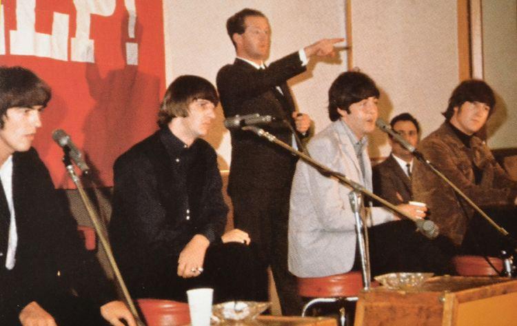 Tony Barrow Tony Barrow Beatles PR Man Merseysider