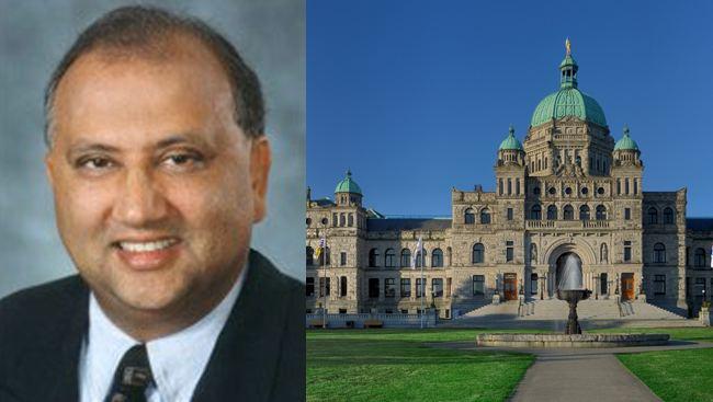 Tony Bhullar Canadian Lawyer Tony Bhullar Wants British Columbia Legislature Scrapped