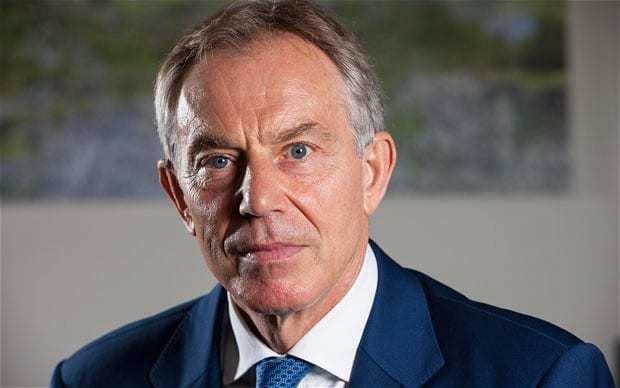 Tony Blair Tony Blair Telegraph