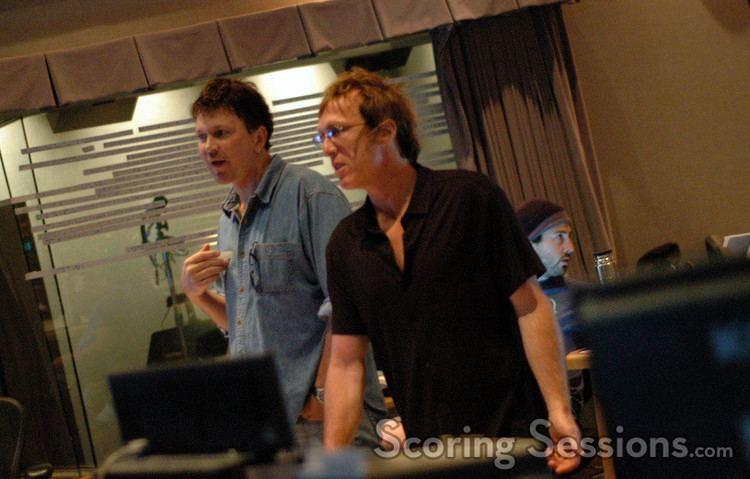 Tony Blondal Orchestrator Tony Blondal and scoring mixer Greg Townley dsc9363