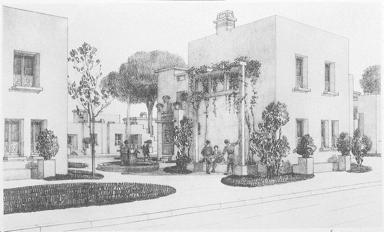 Tony Garnier (architect) tony garnier drawings Google Search Van de Velde Garnier