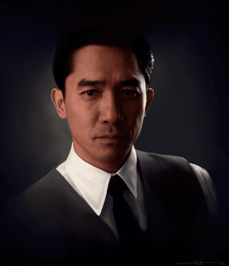 Tony Leung Chiu-wai Alice X Zhang euclase Tony Leung ChiuWai drawn for