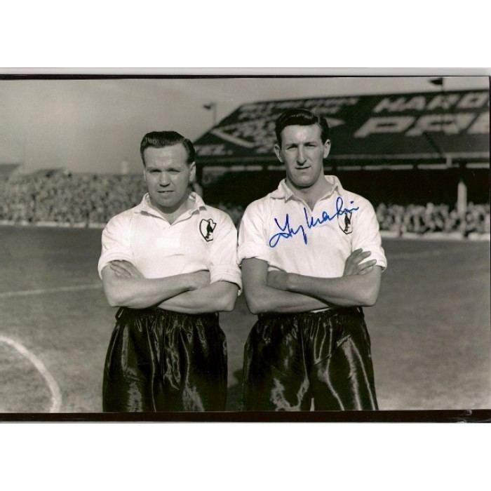 Tony Marchi Signed photo of Tony Marchi the Tottenham Hotspurs footballer