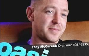Tony McCarroll Louder Than War Interview Tony McCarroll Oasiss founder member