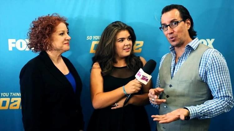 Tony Meredith TONY MEREDITH MELANIE LAPATIN SO YOU THINK YOU CAN DANCE INTERVIEW