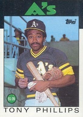 Tony Phillips 1986 Topps Tony Phillips 29 Baseball Card Value Price Guide