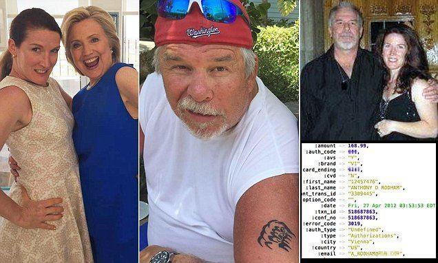 Tony Rodham Hillary Clinton39s brother Tony Rodham exposed as Ashley